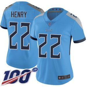 Women Titans Derrick Henry 100th Season Jerseys